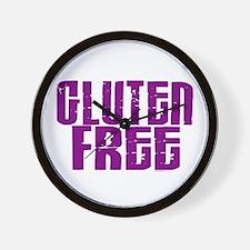 Gluten Free 1.5 (Grape) Wall Clock