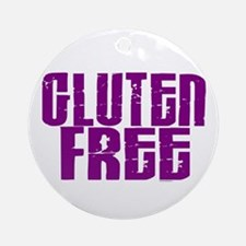 Gluten Free 1.5 (Grape) Ornament (Round)