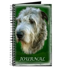 Irish Wolfhound Journal Kelly Green