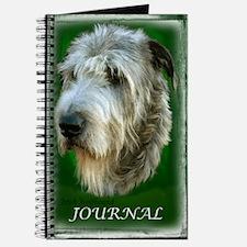Irish Wolfhound Journal Kelly Green