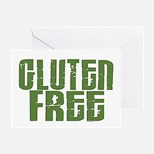 Gluten Free 1.6 (Dark Sage) Greeting Card