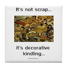 Not Scrap Tile Coaster