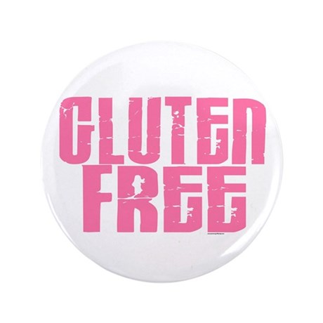 "Gluten Free 1.7 (Cotton Candy) 3.5"" Button (100 pa"