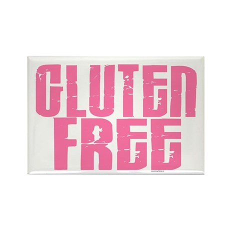 Gluten Free 1.7 (Cotton Candy) Rectangle Magnet (1