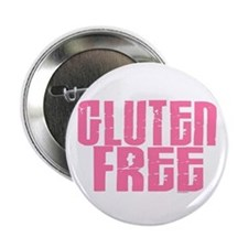 "Gluten Free 1.7 (Cotton Candy) 2.25"" Button"