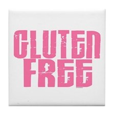 Gluten Free 1.7 (Cotton Candy) Tile Coaster