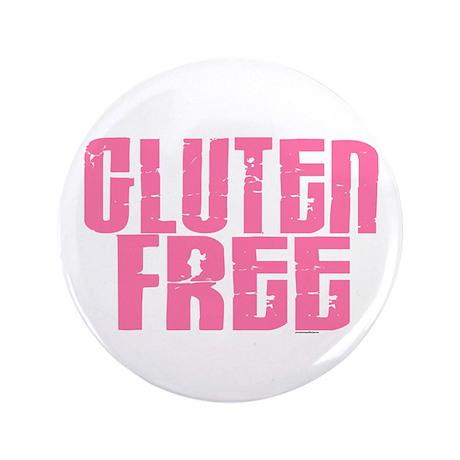 """Gluten Free 1.7 (Cotton Candy) 3.5"""" Button"""
