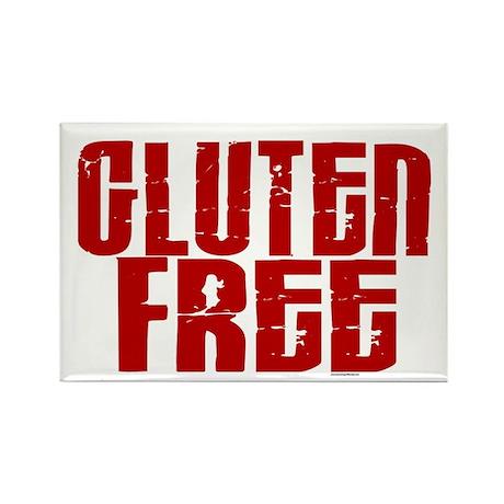 Gluten Free 1.8 (Cinnamon) Rectangle Magnet (100 p