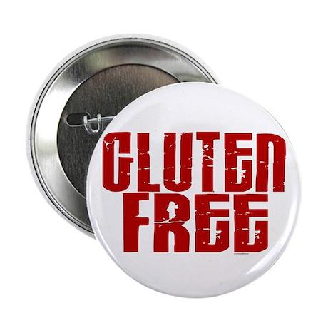 "Gluten Free 1.8 (Cinnamon) 2.25"" Button"