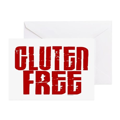 Gluten Free 1.8 (Cinnamon) Greeting Cards (Pk of 1