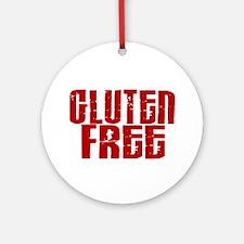 Gluten Free 1.8 (Cinnamon) Ornament (Round)