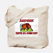 Aardvark trapped in a human body Tote Bag