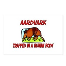 Aardvark trapped in a human body Postcards (Packag