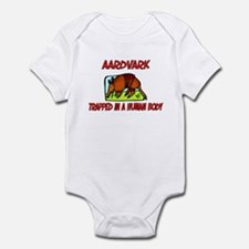 Aardvark trapped in a human body Infant Bodysuit