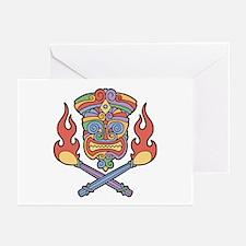 Cali Con Tiki Greeting Cards (Pk of 10)