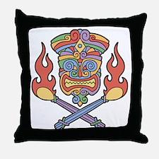 Cali Con Tiki Throw Pillow