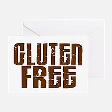 Gluten Free 1.9 (Chocolate) Greeting Card