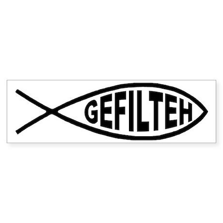 Gefilteh Fish Bumper Sticker