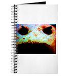 Cookie Monster eats Journal