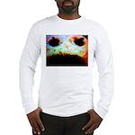 Cookie Monster eats Long Sleeve T-Shirt