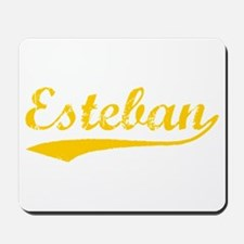 Vintage Esteban (Orange) Mousepad