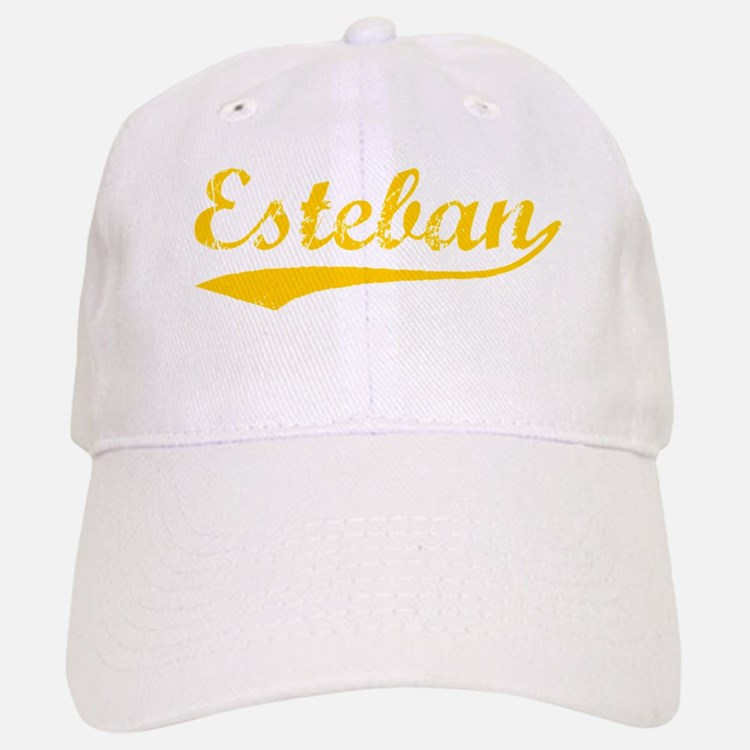 Vintage Esteban (Orange) Baseball Baseball Cap