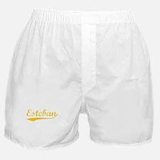 Vintage Esteban (Orange) Boxer Shorts