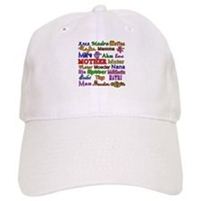 Mother in Many Languages Baseball Cap