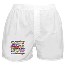 Mother in Many Languages Boxer Shorts