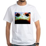 Cookie Monster eats White T-Shirt