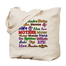 Mother in Many Languages Tote Bag