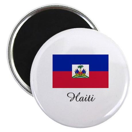 "Haiti Flag 2.25"" Magnet (10 pack)"