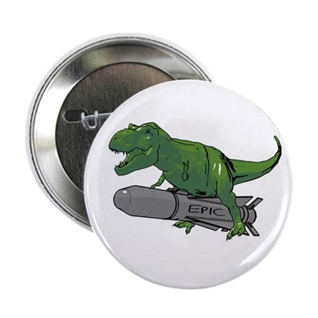 "2.25"" Button (10 pack) Epic Dino"
