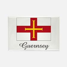 Guernsey Flag Rectangle Magnet