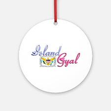 USVI Island Gyal - Ornament (Round)