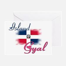 Island Gyal - Dominica Greeting Card