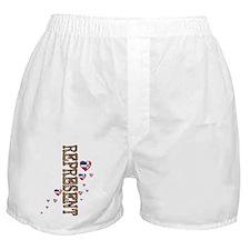 Cute I love dominican girls Boxer Shorts