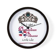 Dominican Princess - Wall Clock
