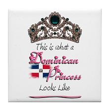 Dominican Princess - Tile Coaster