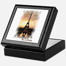 I'd Rather Be In Paris - Keepsake Box