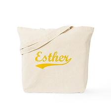 Vintage Esther (Orange) Tote Bag