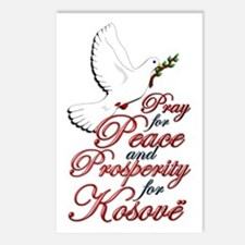 pray for Peace, Prosperity - Kosovo - Postcards (P