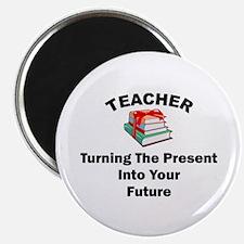 Teachers Present Magnet