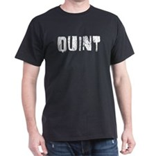 Quint Faded (Silver) T-Shirt