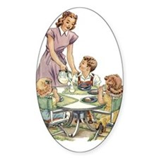 1940's Mother Oval Decal