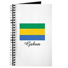 Gabon Flag Journal