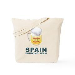 Spain Drinking Team Tote Bag