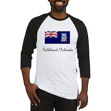 Falkland Islands Flag Baseball Jersey