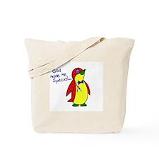 God Made Me Special 1.1 (Autism) Tote Bag