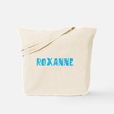 Roxanne Faded (Blue) Tote Bag